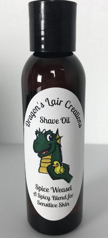 Spice Weasel Sensitive Shave Oil